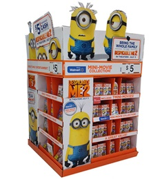 Cartoon DVD CD Display