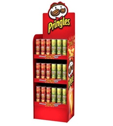 Potato Chips Pop Displays