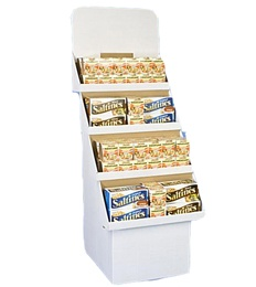 Biscuit Tiers Display Stands
